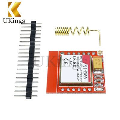 Smallest SIM800L GSM GPRS Module Card Board Quad-band Onboard With Antenna