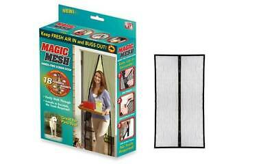2x Magic Mesh Hands-Free Magnetic Net Screen Door