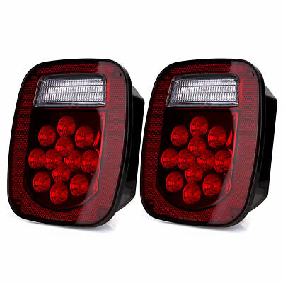 39 LED Taillight Turn Signal Brake Lights for Truck Fire Engines Special Vehicle
