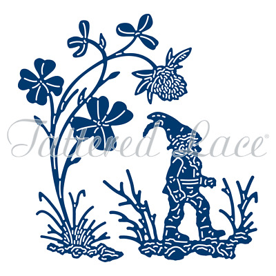New Tattered Lace Clover Gnome Cutting Dies 433254
