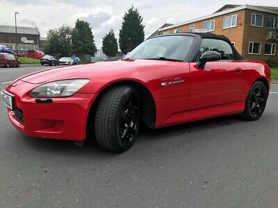 Honda S2000 AP1  RED CONVERTIBLE 2.0 VTECH  2001 Year