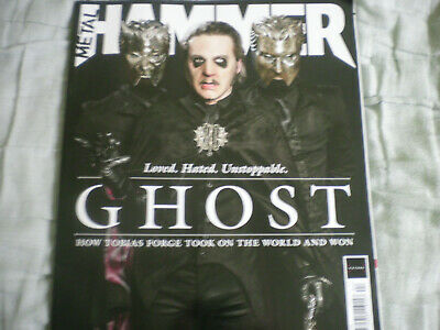UK Metal Hammer April 2019 Ghost Issue Pro Memoria Cardinal Copia Tobias Forge