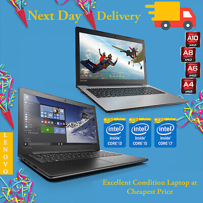 "Cheap Lenovo Fast Laptop 15.6"" Intel Core i5 i7 4GB 8GB RAM 1TB HDD SSD Win 10"