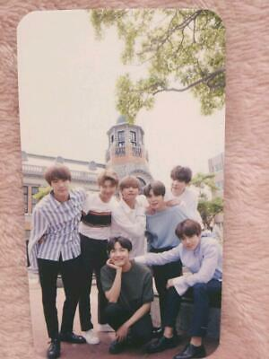 BTS Bangtan ALL MEMBER JAPAN WINGS TOUR Live Special Limited Photo Card