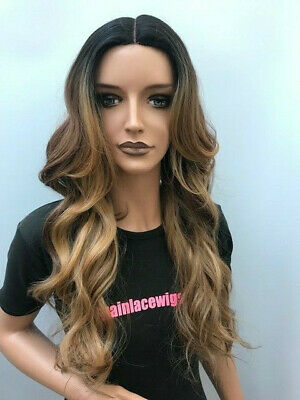 Freetress Equal Synthetic Lace Parting Wig VIVIA Colour FF WARMBRN