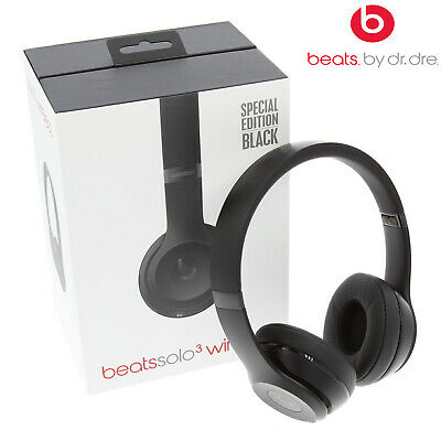 Beats by Dr. Dre Solo3 Wireless Headphones Brand New - Matte Black