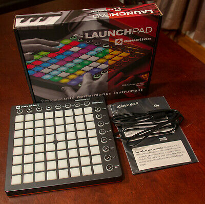 Novation LaunchPad MK2 w/Ableton Lite  - Original Packaging and Box!