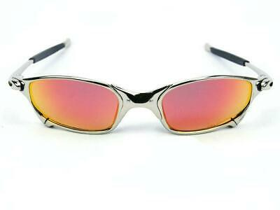 X-Metal Juliet Cyclops New colour Sunglasses Ruby Polarized Glass Goggle