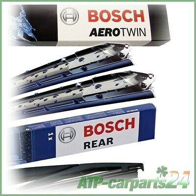 Bosch Aerotwin Wipers Front + Rear Fits Subaru Outback 09-