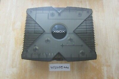 RARE Japanese Xbox Skeleton Smoke Black Special Edition Console NTSC-J (4031085)