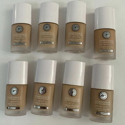 New It Cosmetics Confidence in a Foundation 1.0 US FL.Oz / 30 ml (8 Shades)