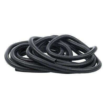 20 Ft Split Wire Loom Conduit Polyethylene Tubing Black Color Sleeve Tube I2B1