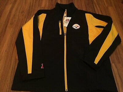 Pittsburgh Steelers NFL Team Apparel Size large jacket - NWT