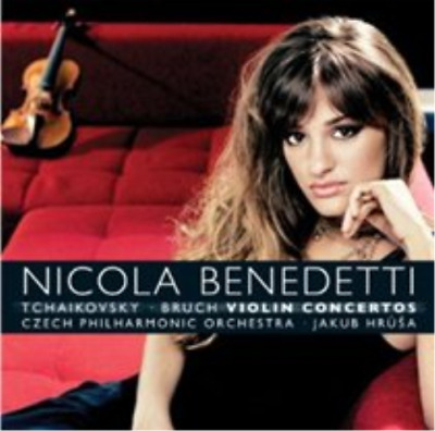 Nicola Benedetti: Violin Concertos CD NEW