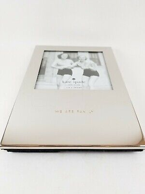 dc6794316ed6 Kate Spade New York PICTURE PERFECT / WE ARE FAMILY 3x3 Photo Picture Frame.