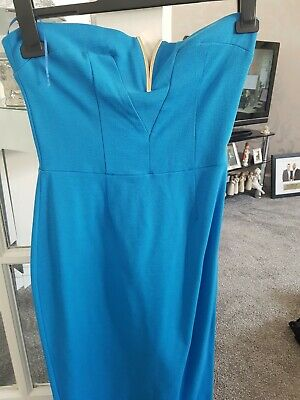 Mid Blue River Island Dress Size 10 Used £10.00
