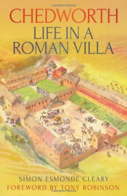 Cleary-Chedworth Life In A Roman Villa BOOK NEW