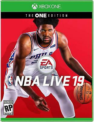 EA NBA Live 19 The One Edition Xbox One