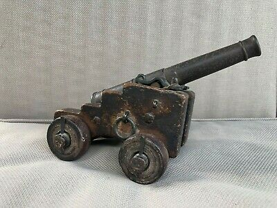 Fine 18th / 19th century Ships model signal cannon - Wonderful, untouched patina
