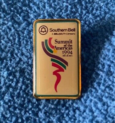 Southern Bell Summit of the Americas 1994 Miami FL a Bell South Co USA NOS