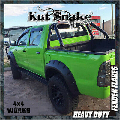 Kut Snake Wheel Arches Fender Flares Toyota Hilux (2005-11) Monster Wide