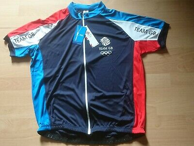 Team GB Mens Cycling Jersey. Size X Large. (BNWT)