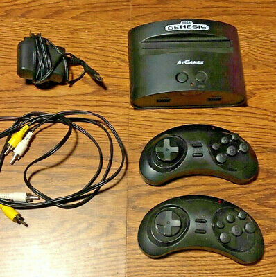 Sega Genesis ATGames Classic Game Console With 2 Wireless Controllers