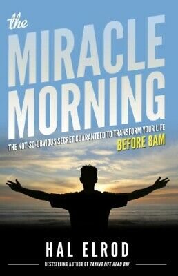 The Miracle Morning: By Hal Elrod (EBOOK) / PDF 😄