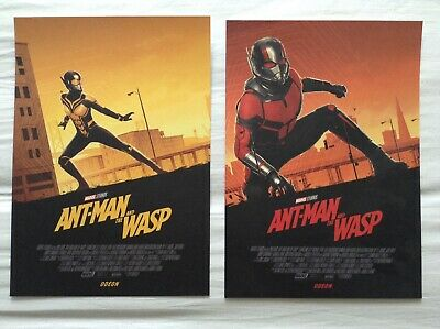 ant man and the wasp Odeon Poster Set