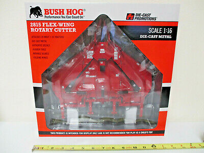Bush Hog 2815 Flex-Wing Rotary Mower by Die Cast Promotions 1/16th Scale !