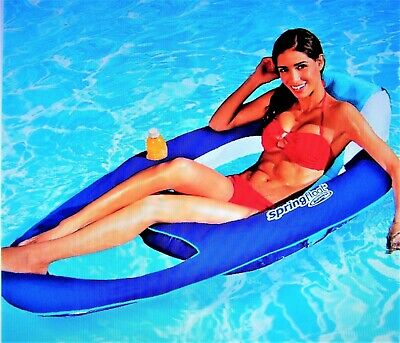 Swimways Portable Terra Sol Sonoma Chaise Poolside And