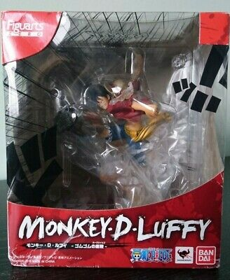 One Piece Monkey D Luffy Gum Gum Hawk Whip Figuarts