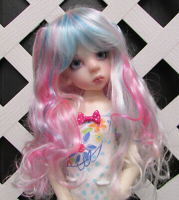 "7-8 8-9 5-6 BJD Dolls /& More /""Princess Fairy/"" Wig Sizes 4-5"