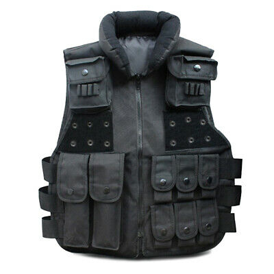 Military Tactical Vest SWAT Police Airsoft Hunting Assault Carrier Combat