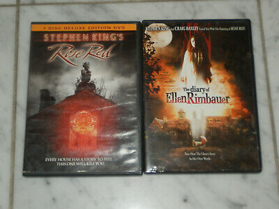 Stephen King's Rose Red & The Diary of Ellen Rimbauer DVD Set Lot RARE OOP