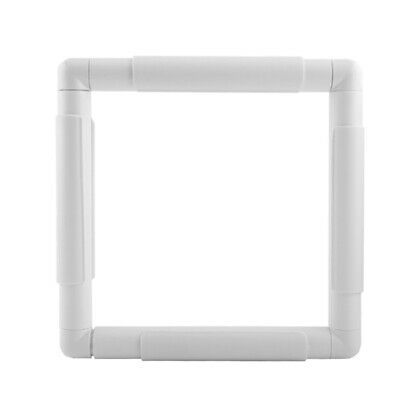 Embroidery Frame Plastic Quilting Frame Sewing Tools Handhold Square Shape  B3H6
