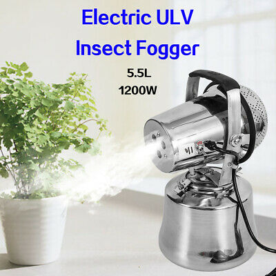 SILVER BULLET ULV Non-Thermal Cold Fogger Triple Jet Pest Mosquito