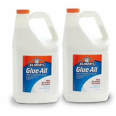 Elmer's Glue-All Multi-Purpose Liquid Glue Extra Strong 1 Gallon 2 count