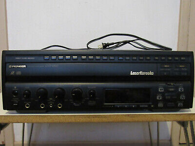 Pioneer CLD-V820 LaserKaraoke LD/CD Multi Laser Disc Player Great Condition