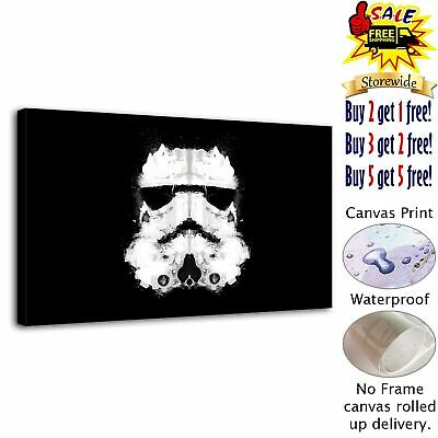 "Stormtrooper Star Wars Home Decor Canvas Print Picture Wall Art Painting 12""x20"""