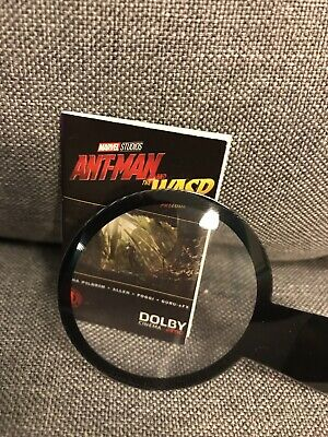 Ant-man and the Wasp Mini Comic Book With Magnifying Glass By Dolby Cinema AMC