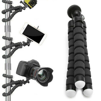 Universal Flexible Tripod Stand Octopus Mount Holder for Camera Smart Phone New