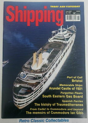 Shipping Today and Yesterday - No.208 - June 2007