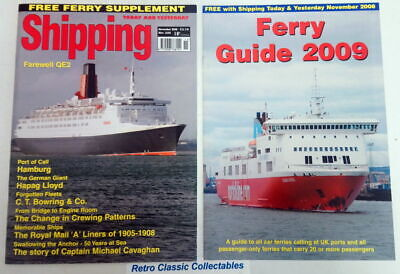 Shipping Today and Yesterday - No.225 - November 2008 - Includes suppliment