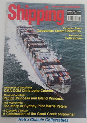 Shipping Today and Yesterday - No.240 - February 2010