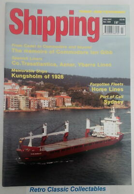 Shipping Today and Yesterday - No.209 - July 2007