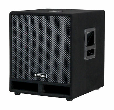 "Speaker Monitor Subwoofer DJ PA Box Passive 15"" 35cm Audio Hifi Woofer 1200W"