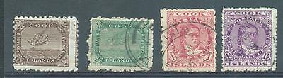 Cook Is 1900-18 sg.15a, 23, 26, 42 used