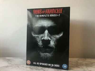 DVD Boxset Sons of Anarchy The Complete Series Season 1-7 1 2 3 4 5 6 7