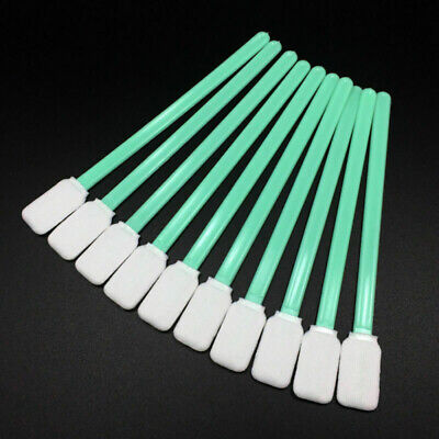 100PCS Cleaning Swabs Foam Swabs Sticks For Roland Mimaki Mutoh Epson P EAR